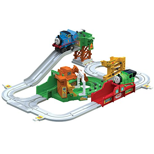 Thomas and Friends T14000 Big Loader - Motorised Interactive Toy Train Set - Thomas The Tank Engine Toy Train Playset - Suitable From 3 years