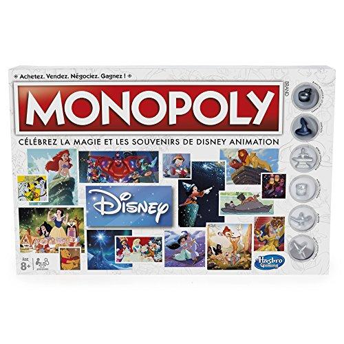 Hasbro Monopoly Disney Niños Simulación económica