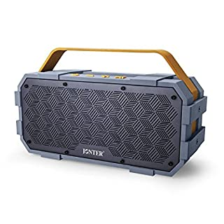 Bluetooth Speaker with Built in Subwoofer, JONTER [M90], Big Power Driver, Generous Outdoor Design, IPX5 Water Resistant-Rugged, Suitable for Party Atmosphere