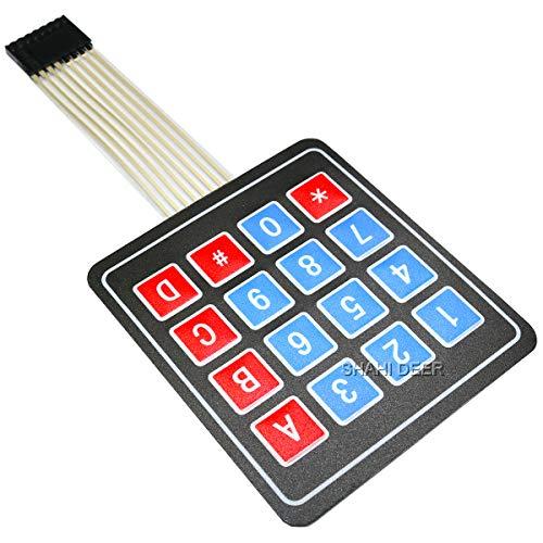 SHAHIDEER 4 x 4 Matriz 16 Matriz tecla Teclado Interruptor