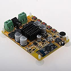 Generic TDA7492 2*50W Dual channel stereo 4.0 Bluetooth amplifier board With microphone