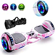 Coolbaby 6.5 Inch Smart Self Balance Power Hoverboard Wheel, Adult Electric Scooters, Hoverboard for Kid, With
