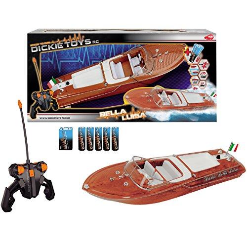 RC Boat Bella Luisa, Luxusyacht mit Propellerantrieb und Fernsteuerung - Ferngesteuertes Boot Wasser Fahrzeug Yacht Spielzeug