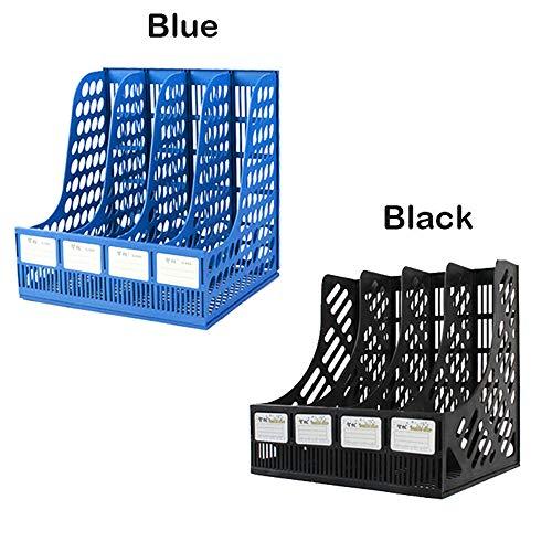 pierkorb-Ordner Ordner aus der Zwischenablage Rack-Ordner Ultra-Modern Style-Dateien Füllhalter Rack Box Papierkram Stifthalter Schreibtisch-Aufbewahrungsbox ()
