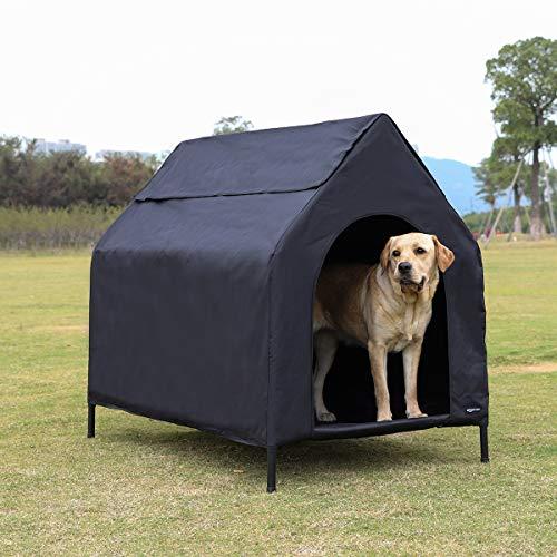Imagen de Casa de Perros Para Jardín Amazonbasics por menos de 70 euros.