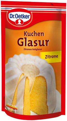 Dr.Oetker Kuchen Glasur Zitrone, 11er Pack (11 x 125 g)