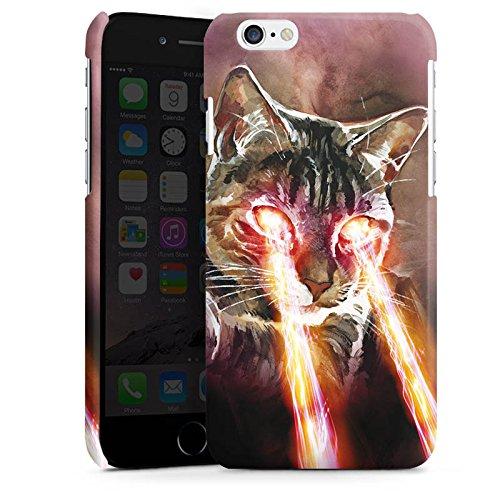 Apple iPhone 5s Housse Étui Protection Coque Chat Laser Chat Cas Premium brillant