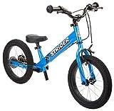 Strider Draisienne Sport 14 Pouces - Vélo sans pédale Enfants 3 à 7 Ans - Draisienne évolutive bébé en vélo - Coloris Bleu
