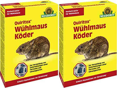 Neudorff Quiritox Wühlmausköder 400g -