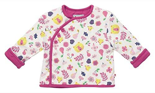 Piccalilly Windeltuch Bio Baumwolle rosa Baby & Kleinkind Mädchen Wendejacke Gr. 62, Rosa - Pink