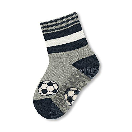 Sterntaler Baby-Jungen Socken Fli Air Fußball, Blau (Marine 300), 22 (21/22)