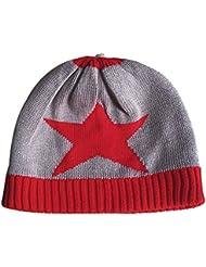 Dr.mama 3 piezas bufanda + sombrero + guantes para bebé no puede bola, no se borran, suave y delicado 100% algodón conveniente para el otoño y el invierno