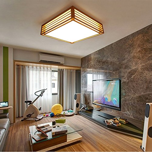 Moderne Minimalistische Holzdecke Wohnzimmer Schlafzimmer Den Restaurant  Lichter Bürobeleuchtung Des