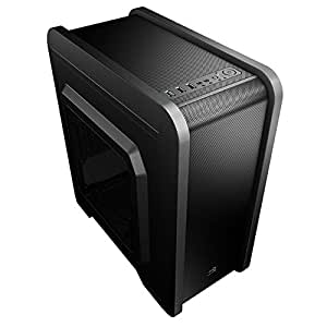 Aerocool QS-240 Case per PC, USB 3.0, Nero