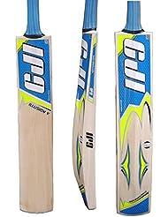 CJI Ultimate ilusión V bate de Cricket, mango corto peso 2lb 9ozs + Perdido En