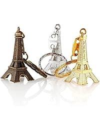 2017 New Arriaval Fashion Vintage 3D Paris Eiffel Tower Keychain Fch Souvenir Paris Keychain Keyring Key Chain...