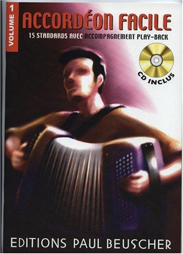 Accordeon Facile Vol 1 CD Inclus