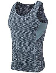 Camiseta de Tirantes de Compresión Ropa Interior Deportiva para Hombre