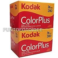 Kodak Color Plus 2pellicules 35mm 200/36–RZ de 2pièces.–Film–Molette–Photographie