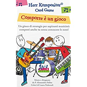 Herr Kompositor. Card Game. Comporre è un gioco.