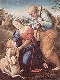 Lais Puzzle Raffaello - Sacra Famiglia con Un Agnello 1000 Pezzi