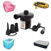 """Vrutaâ""""¢ Electrical Air Pump, Quickly Inflates & Deflates All Large Volume Inflatables, voltage AC 230"""