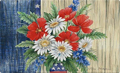 Toland Home Garden 830254Patriotische Bouquet 45,7x 76,2cm recyceltem Matte, USA hergestellt (Outdoor-deck Dekor)
