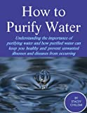 How to Purify Your Drinking Water: Understanding the Importance of Purifying Water and How Purified Water Can Keep You Healthy and Prevent Unwanted Illnesses ... Diseases from Occurring (English Edition)