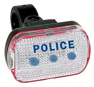 Eclairage velo avant type Police