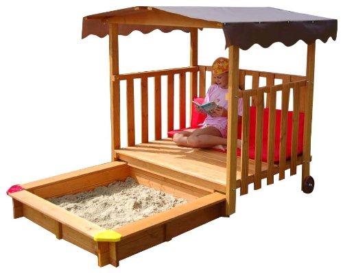 Spielhaus mit Sandkasten (Gaspo)