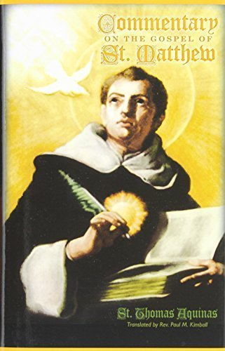 Commentary on the Gospel of St. Matthew by St. Thomas Aquinas (2011-01-14)
