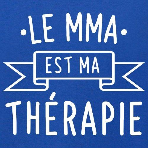 Le mma est ma thérapie - Femme T-Shirt - 14 couleur Bleu Royal
