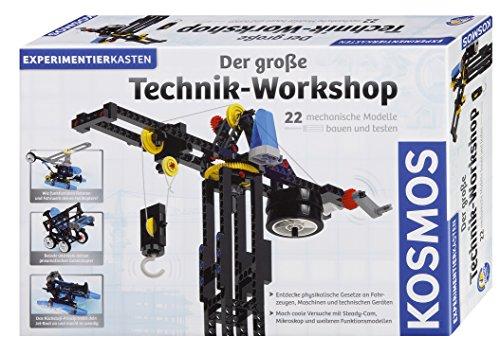 Kosmos 628154 Juguete y Kit de Ciencia para niños Kit de experimentos - Juguetes y Kits de Ciencia para niños (Física, Kit de experimentos, 10 año(s), Niño/niña, 330 mm, 482 mm)