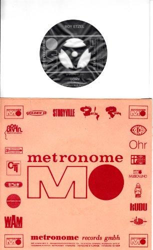 """ROY ETZEL / LORY / SAG`JA ZU MIR / 1972 / Firmenhülle mit rückseitiger Beschreibung in Schreibmaschinenschrift / metronome # M 25.439 / Deutsche Pressung / 7\"""" Vinyl Single Schallplatte"""