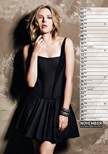 Libro Scarlett Johansson 2018 Calendrier di Scarlett Johansson скарлетт йоханссон