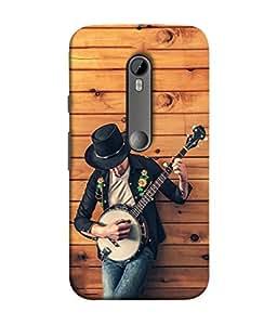 Fuson Designer Back Case Cover for Motorola Moto G3 :: Motorola Moto G (3rd Gen) :: Motorola Moto G3 Dual SIM (life husband and wife couple )