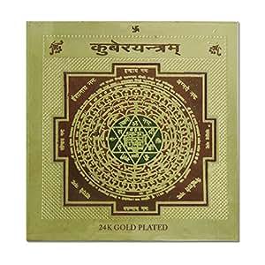 Ratnatraya Energized Wealth God Kuber Wallet Yantra for Vastu, Money Luck and Business   Pocket Yantram For Prosperity