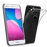 LONVIPI Case Huawei P6Pro 2017, Mobile transparent Dünn Anti Slide Schutzhülle in TPU Flexible Silikon Gel weich Gummi-Slim Bumper