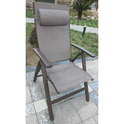 All-weather textilene Recliner Chair