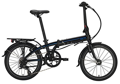tern Link C8 - Bicicletas plegables - 20' negro 2016