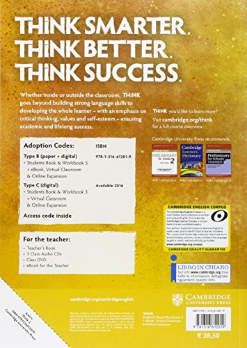 Think. Level 3. Student's book-Workbook. Per le Scuole superiori. Con e-book. Con espansione online