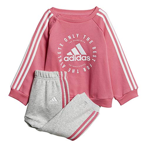 adidas 3 Stripes Jogger, Genre S Mehrfarbig (semi solar pink/White)