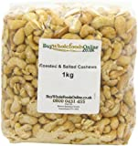 Buy Whole Foods Cashew Nuts Whole Roasted and Salted 1 Kg