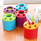 Proto Cool porous couple creative toothbrush holder toothpaste mouthwash multi-function desktop pen holder rack storage Colors