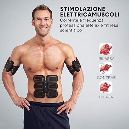 Zoom IMG-2 balfer stimolatore muscolare elettrostimolatore addominali
