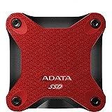 Adata ASD600-512GU31-CRD - Unidad de Estado sólido de 512 GB, Color Rojo