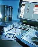 150 Stück LEITZ Rückenschilder PC-beschriftbar 1686-20-85 grau 39x191mm Einsteck