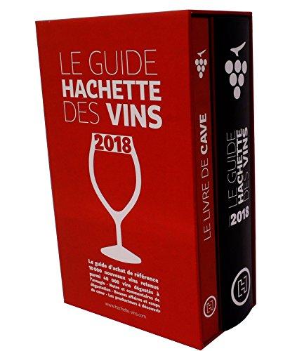 Coffret Guide Hachette des vins 2018 + livre de cave