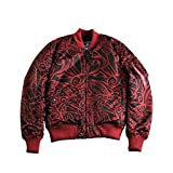 Alpha Industries Bomberjacke MA-1 VF Tonga (XL, Burgundy)