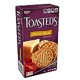 Keebler Toasteds Harvest Wheat Snack Cracker 8 Oz